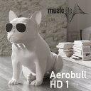 【musiclife/ミュージックライフ】AeroBull HD1 ワイヤレススピーカーエアロブル/ブルドッグ/Bluetoothスピーカー/ス…