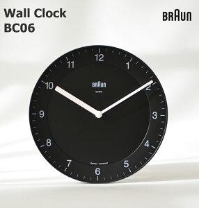BRAUN Wall Clock 《BC06Bブラック》《BC06Wホワイト》 BRAUN /ブラウン/壁掛け時計/ウォッチ/WATCH/北欧/デンマーク/ローゼンダール/アラーム