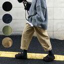 【最大20%OFFクーポン配布中!】 パンツ ボトムス レディース おしゃれ チノパン ロング カジュアル ウエストゴム 黒…