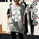 Tシャツ レディース 半袖 カジュアル おしゃれ 大きいサイズ カットソー トップス (sh-277)(メール便送料無料)