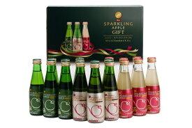 シャイニー りんごジュース スパークリングアップルジュース飲みくらべ SP−A