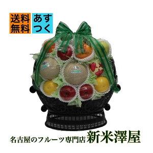 果物 詰め合わせ フルーツ かご盛り 法事 お供え 送料無料 あすつく対応