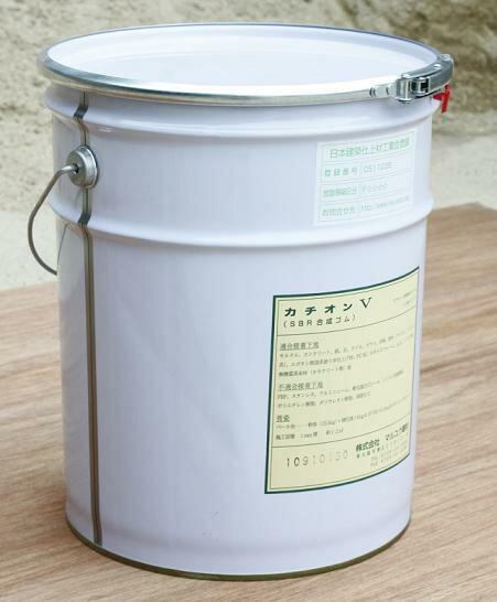 カチオン性樹脂モルタル コテ塗りタイプ カチオンV 20kg缶