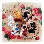 タオル「猫のオーケストラ」