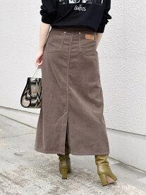 [Rakuten Fashion]【SHIPS別注】Wrangler:コーデュロイスカート◇ SHIPS WOMEN シップス スカート ロングスカート ブラウン【送料無料】