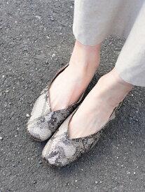 [Rakuten Fashion]SHIPSany:Vカットパンプス SHIPS any シップス シューズ パンプス ブラウン ベージュ【送料無料】