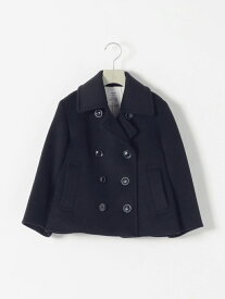 [Rakuten Fashion]SHIPS any: STANDARD Pコート<KIDS> SHIPS any シップス コート/ジャケット ピーコート ネイビー【送料無料】