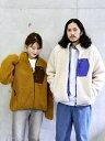 [Rakuten Fashion]【WEB限定】SHIPS: ビッグシルエット リバーシブル ボア フリース ブルゾン 20FW SHIPS シップス コ…