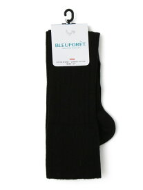 [Rakuten Fashion]BLEUFORET:コットンリブニーハイソックス SHIPS WOMEN シップス ファッショングッズ ソックス/靴下 ブラック