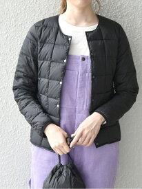 <予約>TAION: インナー ショート ダウン ジャケット SHIPS any シップス コート/ジャケット ダウンジャケット ブラック ベージュ レッド【先行予約】*【送料無料】[Rakuten Fashion]