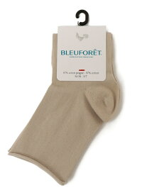 BLEU FORET:コットンショートソックス SHIPS WOMEN シップス ファッショングッズ ソックス/靴下 ベージュ ブラック[Rakuten Fashion]