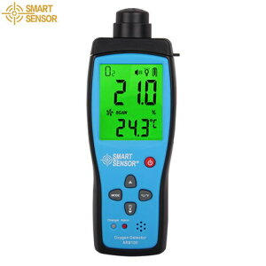 SMART SENSOR 【メーカー正規品】 AR8100 酸素濃度計 酸欠事故予防 音と光のアラーム