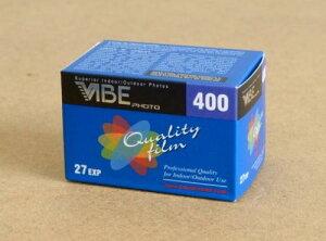 VIBE カラーフィルム ISO400 35mm 27枚撮り