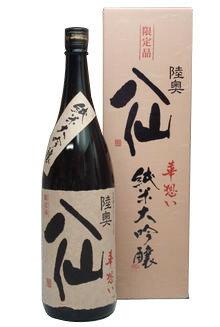 陸奥八仙 華想い40 純米大吟醸 1800ml − 八戸酒造