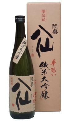 陸奥八仙 華想い40 純米大吟醸 720ml − 八戸酒造