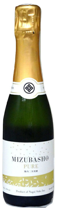 MIZUBASHO PURE (水芭蕉 ピュア) 360ml 箱無し − 永井酒造