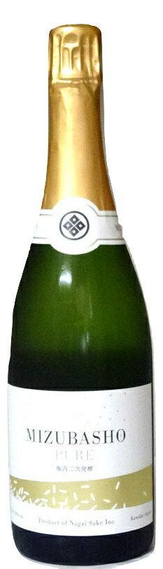 MIZUBASHO PURE (水芭蕉 ピュア) 720ml 箱無し − 永井酒造