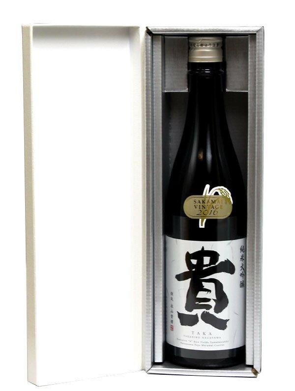 貴 純米大吟醸 山田錦 720ml − 永山本家酒造場