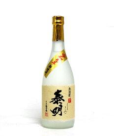 麦焼酎 令和元年 新焼酎 特蒸泰明 25度 720ml − 藤居醸造