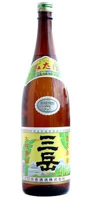 芋焼酎 三岳 25度 1800ml − 三岳酒造