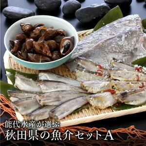 能代水産が選ぶ 秋田県の魚介セットA[冷凍]送料無料 ハタハタ 鯛 塩麹 秋田産[あきた白神ツーリズム]※内容は季節や水揚げ状況によって変わる場合があります。