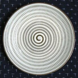 和食器 福岡県伝統工芸品小石原焼 【蔵人窯】手作り 皿 飛びかんな (16cm)