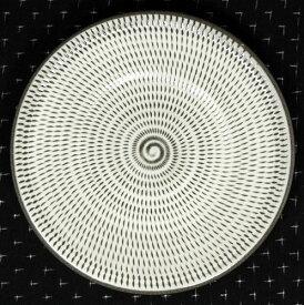 和食器 福岡県伝統工芸品小石原焼 【蔵人窯】手作り 皿 飛びかんな(18cm)