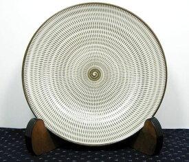 和食器 福岡県伝統工芸品小石原焼 【蔵人窯】手作り 皿 飛びかんな(22cm)