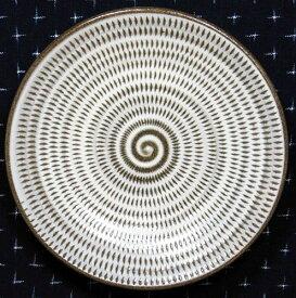 和食器 福岡県伝統工芸品小石原焼 【蔵人窯】手作り 皿 飛びかんな(14cm)