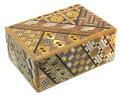 民芸品工芸品海外向けおみやげ箱根の組み木細工4寸秘密箱10回