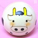 日本のお土産にも人気日本製 民芸品 工芸品卯三郎作 12干支 牛ゆらころ 丑 こけし
