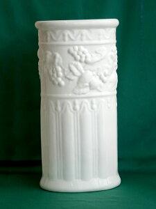 【即納可!!】ポルトガル製 陶器 傘立て 楕円形 レインラック おしゃれ オシャレ スリム