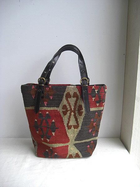 【即納可!!】【送料無料!!】新入荷♪手織り オールドキリム バッグ