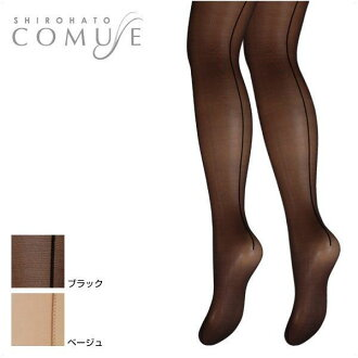 COMUSE garter backseam stockings