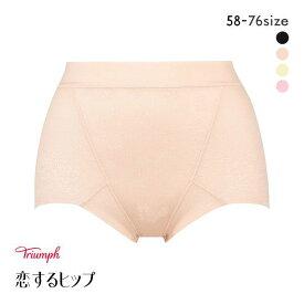 15%OFF【メール便(6)】 (トリンプ)Triumph 恋するヒップ 313 ショートガードル 綿混 PY2 レディース tri-ksh