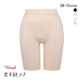 15%OFF【メール便(8)】 (トリンプ)Triumph 恋するヒップ 313 ロングガードル 綿混 PLY レディース tri-kl