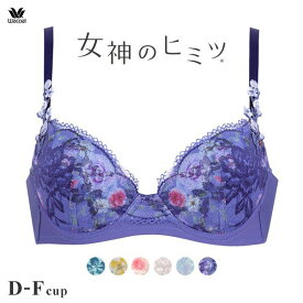 25%OFF ワコール Wacoal 女神のヒミツ BRB466 ブラジャー DEF 単品 レディース