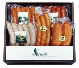 【送料無料】お歳暮 ご贈答に「ウインナーセット」 愛媛県産素材を使用 人気のウインナー5種類