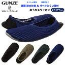 GUNZE グンゼ ウチコレ おうちスリッポン メッシュ素材 メンズ 25-27cm ルームシューズ