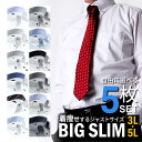 【選べるセット】ワイシャツ メンズ 大きいサイズ 3L 4L 5L 長袖 Yシャツ イージーケア BIG 形態安定 安い ゆったり …