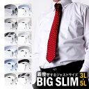 ワイシャツ 大きいサイズ 長袖_★大きいサイズのワイシャツ Yシャツ イージーケア 長袖 BIG 形態安定 / sun-ml-sbu-11…