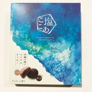 【食品・菓子】クッキーショコラ塩ここあ12個入(ダーク・ミルク角6個)★バレンタイン・チョコ・チョコレート・沖縄・人気・土産・美味しい・チョコ・チョコレート・バレンタイン・彼・