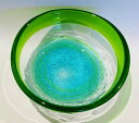 琉球ガラス【潮騒ボールS(2色)】沖縄・人気・土産・ギフト・手作り・夏・きれい・ガラ...