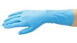 LeABLENo.2033ニトリルPFロングブルー【100枚入】油に強くて丈夫、袖口までガードするロングタイプのニトリル製使い捨て手袋です。使い切り手袋使い捨て手袋ディスポ手袋ニトリル手袋★レビュー記入プレゼント対象商品★