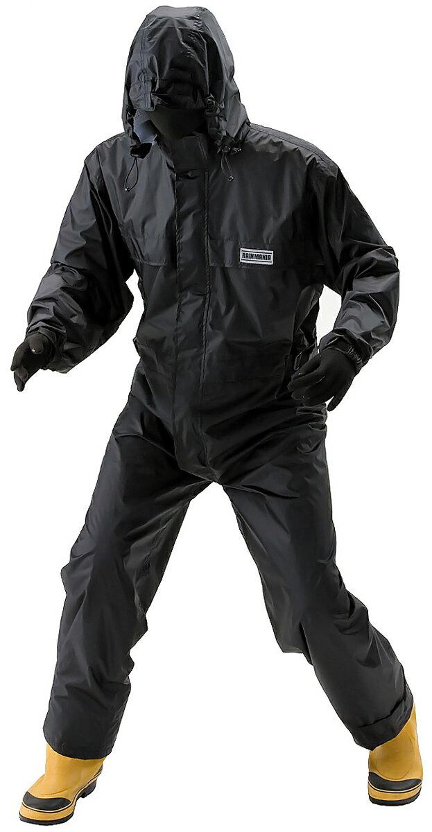KAWANISHI #3630 透湿防水つなぎ服 汗を逃がして雨は通さない特殊繊維を使用したつなぎタイプのレインウェアです。 合羽 雨合羽 レインウェア レインコート レインスーツ ★レビュー記入プレゼント対象商品★