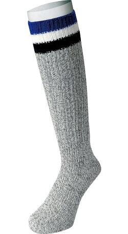 防寒用、安全靴用にオールシーズン使える太編みロングソックスです。おたふく手袋S-794ウール混太編みロングソックス40cm先丸2足組靴下ソックス防寒靴下冬用靴下★レビュー記入プレゼント対象商品★