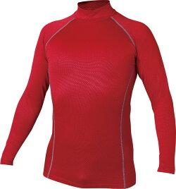 動きやすさ、保湿性に加え、織柄パターンがデザイン性をプラス!JW-172BT織柄チェックハイネックシャツ防寒シャツおたふく手袋★レビュー記入プレゼント対象商品★