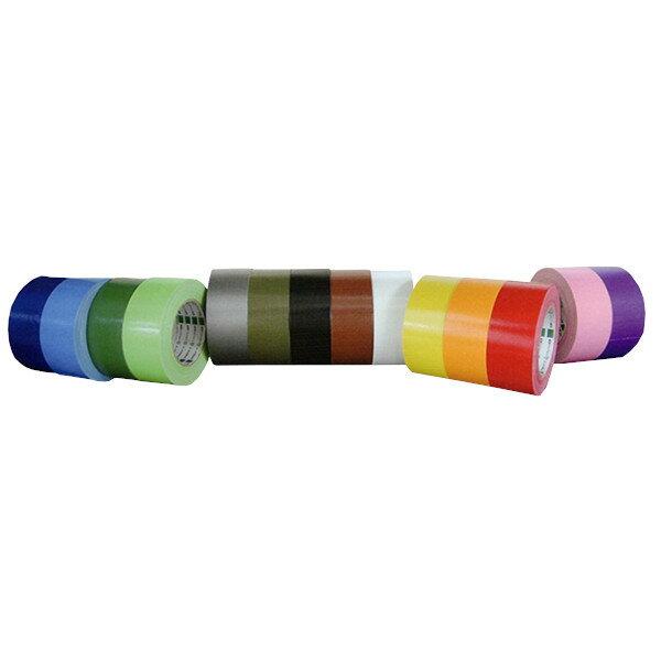 オカモト 布テープ No.111(カラー) 巾50mm×長さ25m×厚さ0.31mm (30巻入)【ケース売り】【smtb-KD】(HA)