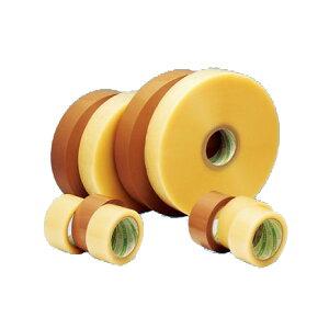 【法人様限定商品】デンカ カラリヤン PP-60M #426 (透明・ベージュ)幅60mm×長さ50m×厚さ0.087mm 5ケース(40巻入×5ケース)(MS)