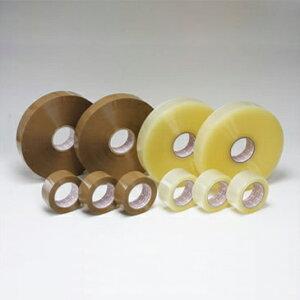OPPテープ #55L (48巾) 55μ (透明・茶色)幅48mm×長さ1000m×厚さ55μ 5ケース(6巻入×5ケース)(HY)